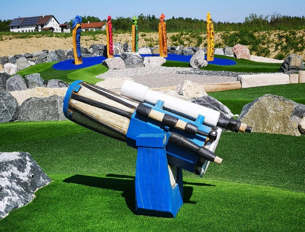 Sternwarte-Teleskop